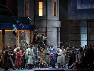 Simon Boccanegra: Ensemble und Chor der Bayerischen Staatsoper - foto: pagina Facebook @baystaatsoper