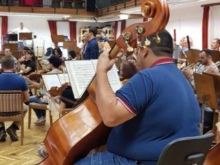 Sala prove della Sinfonica di Miskolc - credits Bartok Plus Opera Festival