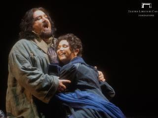 Foto concessa dal Teatro Lirico di Cagliari - Ph. Priamo Tolu