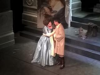 Dimitra Theodossiou e Diego Cavazzin - Foto P. Monteverdi