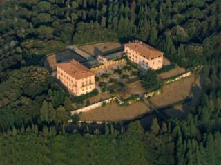 immagine panoramica della Villa di Bellosguardo