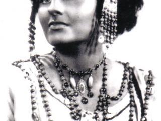 Anna de' Cavalieri - Aida, Pesaro 1949  (debutto italiano)