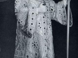 Boris Christoff nel Boris Godunov al Covent Garden nel 1958