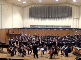 Sala Verdi del Conservatorio di Milano: un momento del Concerto di Natale