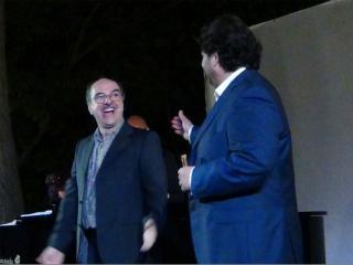 Bruno de Simone e Celso Albelo durante il concerto - foto di Danilo Boaretto
