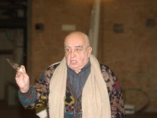 "Beppe De Tomasi durante le prove di ""Tosca"" - Teatro Regio di Parma - Foto Luigi Vasini"