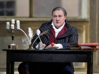 Carlo Gérard in Andrea Chénier, San Francisco Opera 2016, credit Cory Weaver