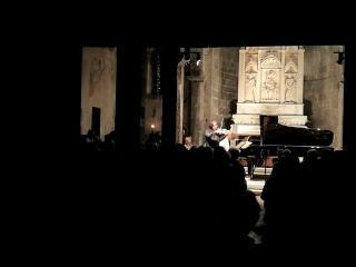 Sergej Krylov e Edoardo Maria Strabbioli (foto dalla pagina fb del Festival Musica da Camera della Versilia)