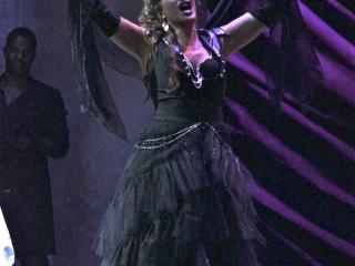 Giovanna Lanza nel ruolo di Carmen