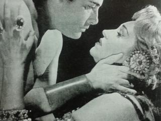 Sansone con la partner Risë Stevens