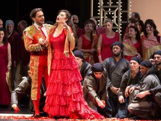 María José Montiel, Carmen al Teatro San Carlo di Napoli - © L. Romano