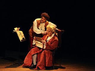 """Mozart e Salieri"" - photocredit M. D'Amato, Firenze"