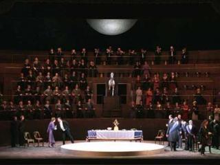 Scena del secondo atto