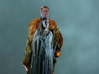 Jon Villars (Bacchus), Elisabeth Meyer Topsoe (Ariadne) - foto di Marco Caselli