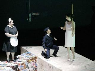 da sx:  Giovanna Donadini, Laura Polverelli e Marcella Orsatti Talamanca - foto di Pietro Cinotti