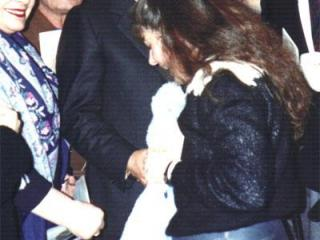 Di Stefano con Susanna al termine del concerto