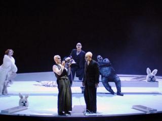 Angel, Faustus, Togod, Mephistopheles e Sly