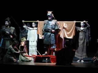da sinistra: Giuseppe Gipali (Macduff) e Antonello Ceron (Malcolm) nel finale dell?opera