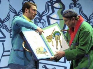 Gabriele Viviani e Ruggero Raimondi - foto di Primo Gnani