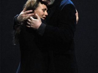 Waltraud Meier (Isolde) e Ian Storey (Tristan)