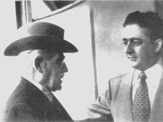 Valdengo in compagnia di Toscanini