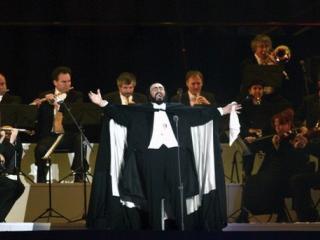 Luciano Pavarotti in concerto