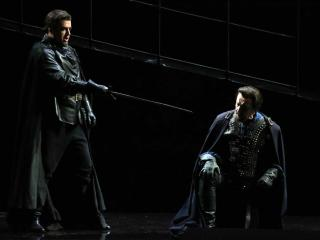 Dmitry Belosselskiy e Leo Nucci - credit Marco Brescia / Teatro alla Scala