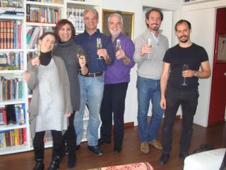 Pranzo CPI a casa Spagnoli con Angela Nisi, Gabriella Sborgi, Pietro, Roberto Abbondanza, Federico Sacci, Enrico Marrucci.