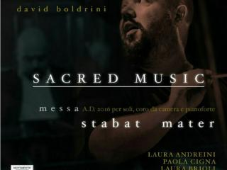cover del cd dello Stabat Mater di David Boldrini