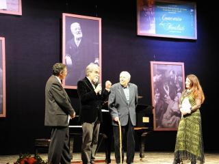 Donata D'Annunzio Lombardi, Rolando Panerai, Peppe Vessicchio e Gianfranco Miscia