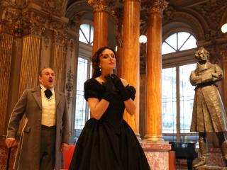 Franco Vassallo, Irina Lungu - Atto II, Scena I - ® Giacomo Orlando