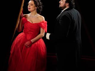 Irina Lungu, Stefan Pop - La Traviata, Atto I - ® Giacomo Orlando