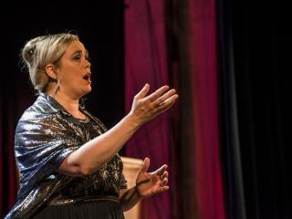 la vincitrice, il soprano Leah Gordon