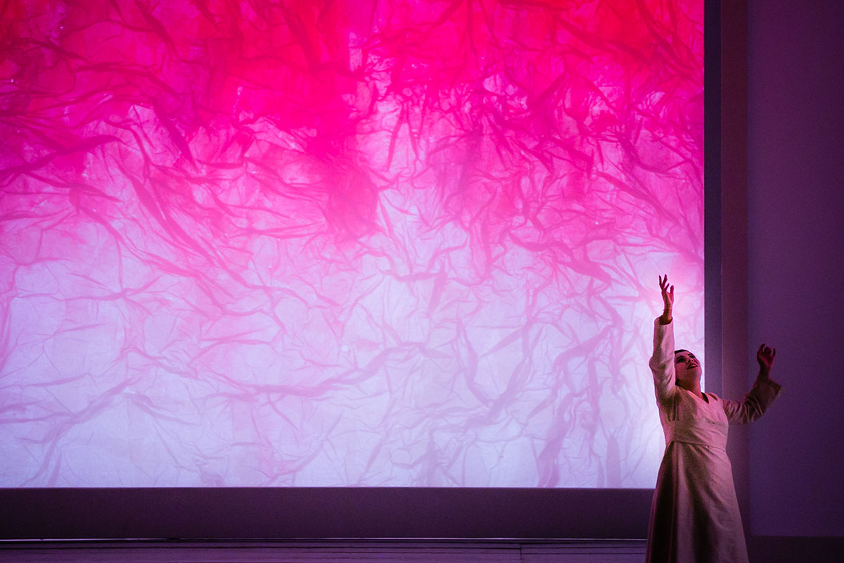 Maria Teresa Leva nel ruolo di Madama Butterfly