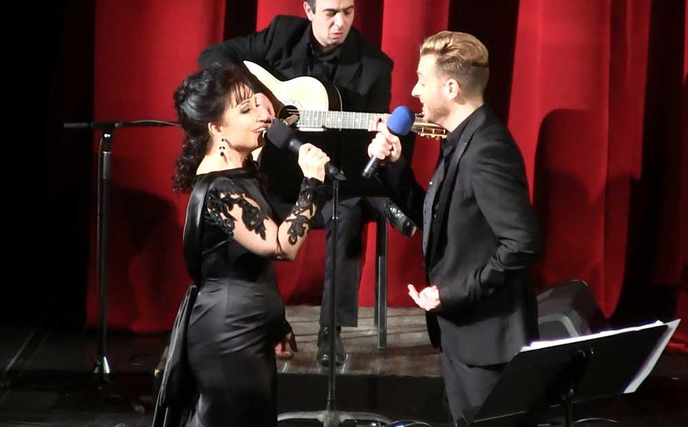 Elena Mosuc e Gonçalo Salgueiro in OperFado Show - © OperFado