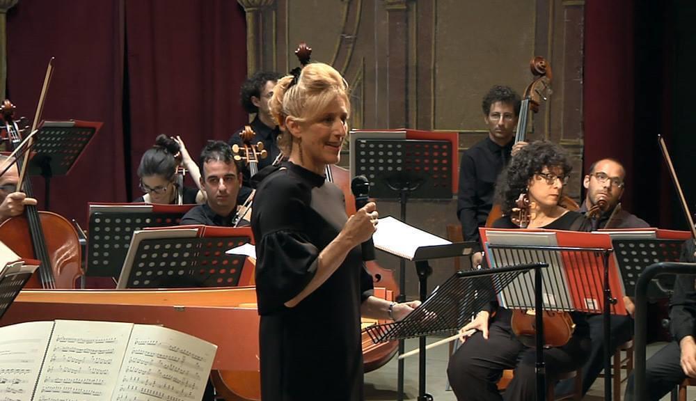 Ilaria Narici - presentazione concerto al Teatro Rossini
