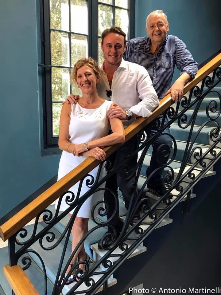 Ilaria Narici, Michele Mariotti e Graham Vick (stagione scorsa per Semiramide) - copyright Antonio Martinelli