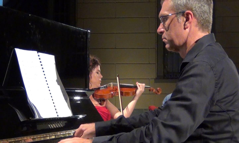 pianoforte Samuele Pala, violino Germana Porcu - credits OperaClick (Danilo Boaretto