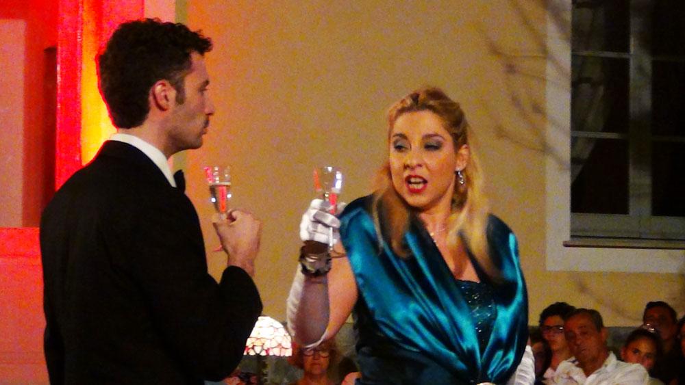 Oreste Cosimo e Stefania Delsanto - foto di OperaClick