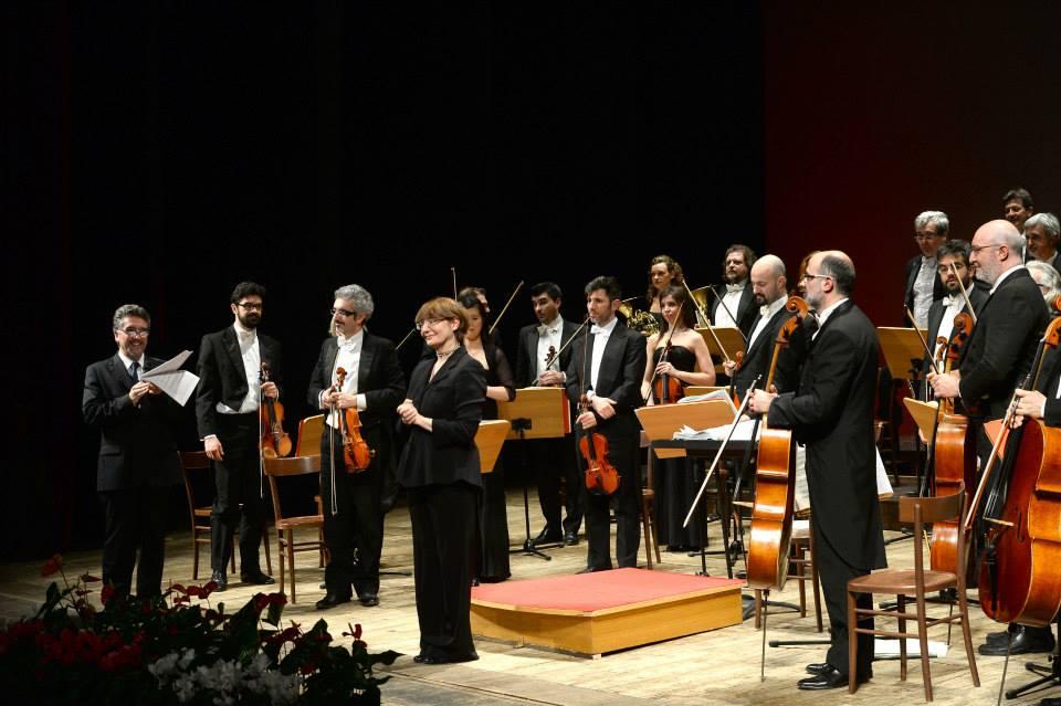 Brixia Symphony Orchestra ed il Direttore d'orchestra Giovanna Sorbi