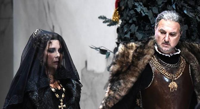 Serena Farnocchia e Michele Pertusi - Foto Teatro Regio Parma