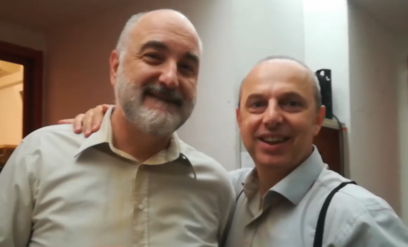 Michele Pertusi e Vladimir Stoyanov