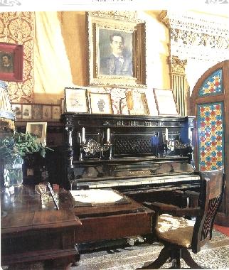 Il pianoforte di cui si servì Puccini per comporre  Turandot