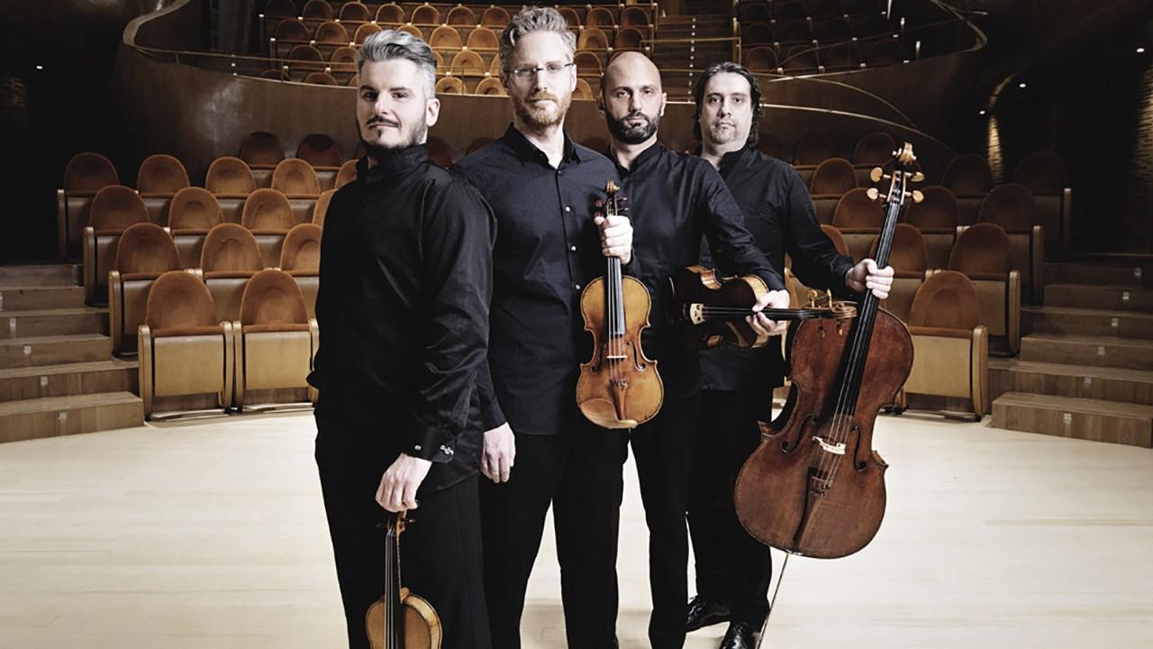 Quartetto di Cremona, foto fornita dalla Fondazione Promusica Pistoia