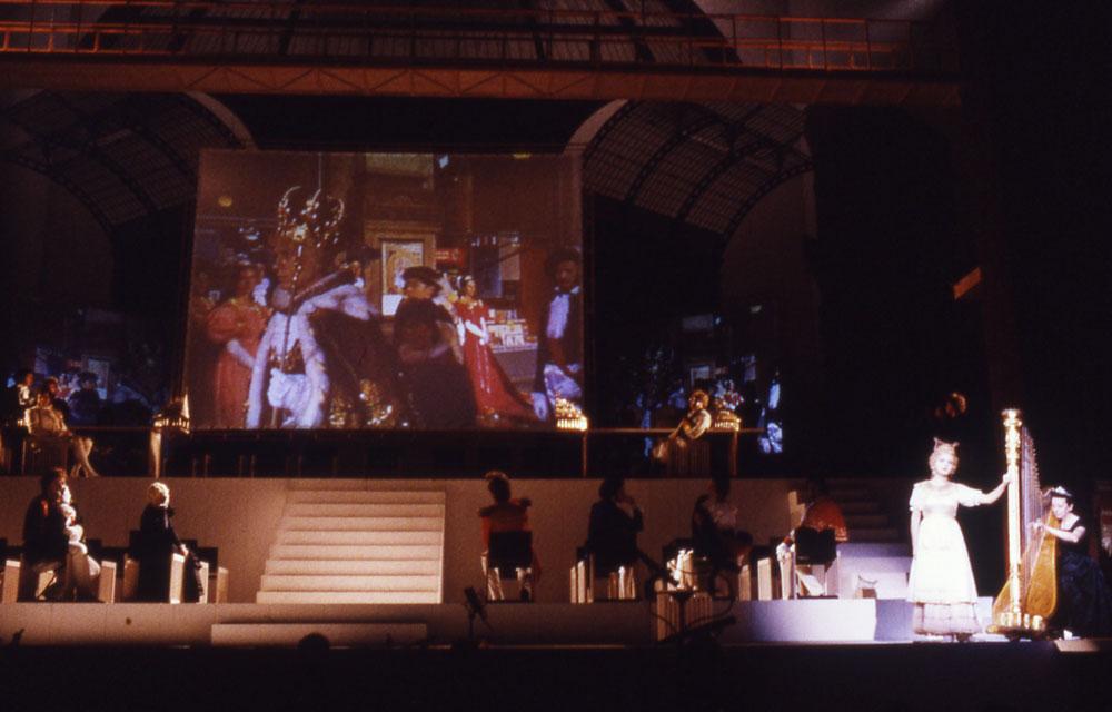 Il viaggio a Reims - regia di Luca Ronconi - foto di Lelli Masotti