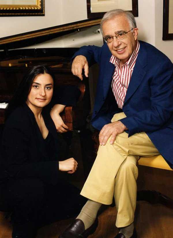Carmela Remigio e Leone Magiera
