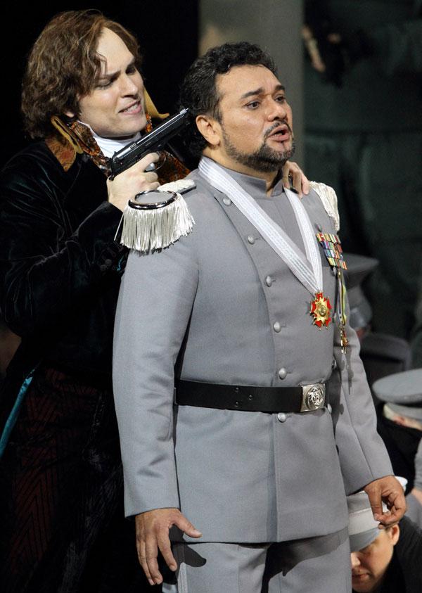 Ramón Vargas (Giasone) e Alek Shrader (Egeo)
