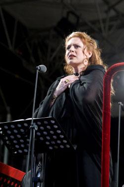 Martina Serafin in concerto a Torre del Lago