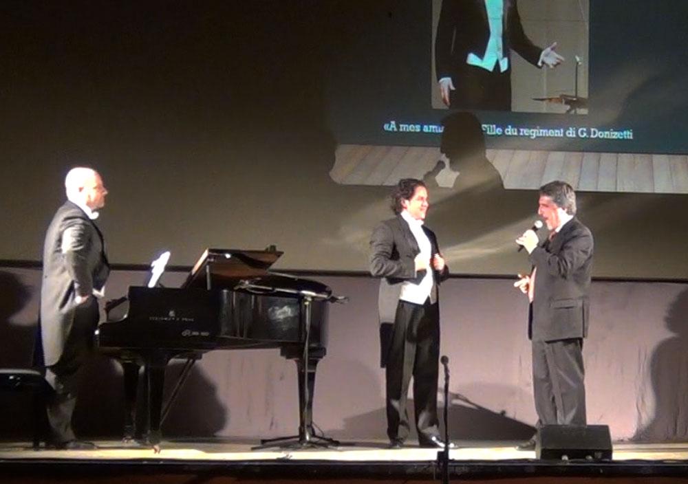 Milo Martani, Juan Pablo Dupre e Danilo Boaretto