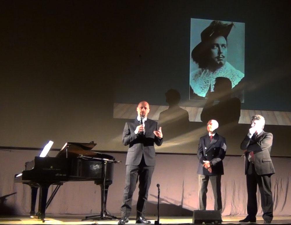 da sx Andrea Carletti, Paolo Barbacini e Danilo Boaretto